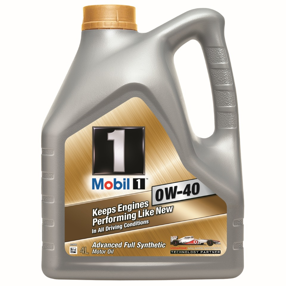 масло мобил 0w40