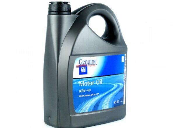 Полусинтетическое моторное масло 10w-40