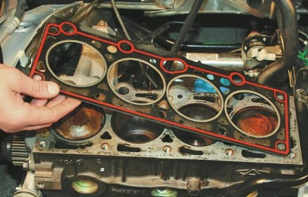 Проблемы в двигателе после замены прокладки ГБЦ